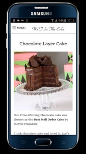 We Take the Cake—Mobile After
