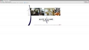 Alice Williams Interiors Original Website
